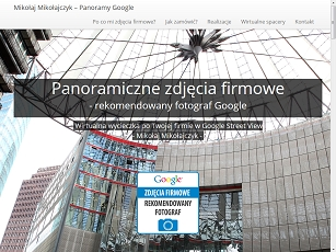 Fotografie Google - business View, panoramy